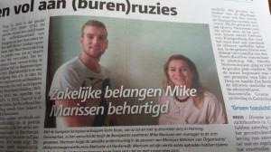 Motivatie behartigt zakelijke belangen voor Mike Marissen